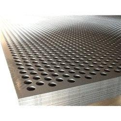 TOLE PERFOREE R10T15 1250X2500 EP 1.5 MM ACIER NOIR