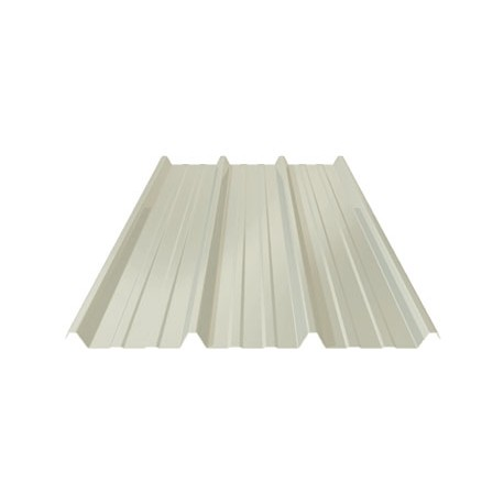 TOLE TOITURE BLANC RAL 9010 PML 45.333.1000 CS EP. 63/100