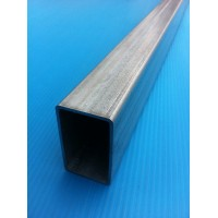 TUBE RECTANGLE ACIER GALVANISE 60X15X1.5