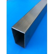 TUBE INOX RECTANGLE 100 X 50 X 3 QUALITE DECO 304L