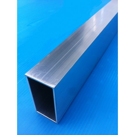 TUBE ALUMINIUM RECTANGLE 50 X 30 X 2 QUALITE 6060