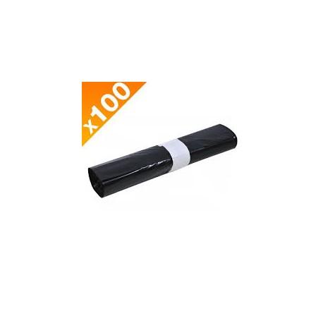 SAC POUBELLE 130L 35µ (carton 100)
