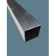 Tube carré aluminium 6060