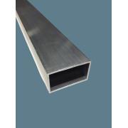 Tube rect. aluminium 6060